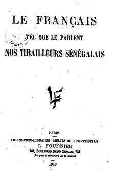 Le francais irregulier