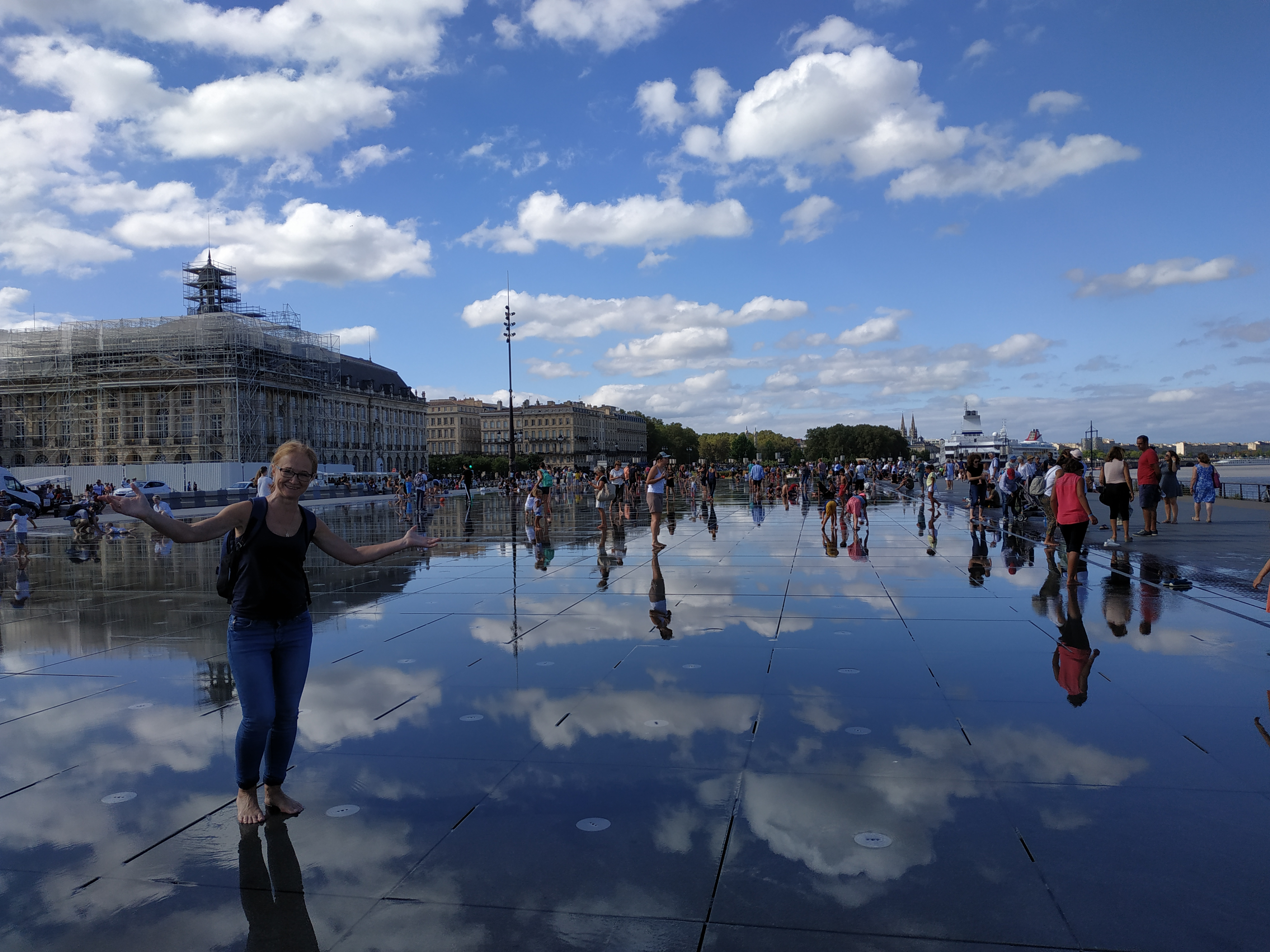 Le mirror de l'eau. Bordeaux