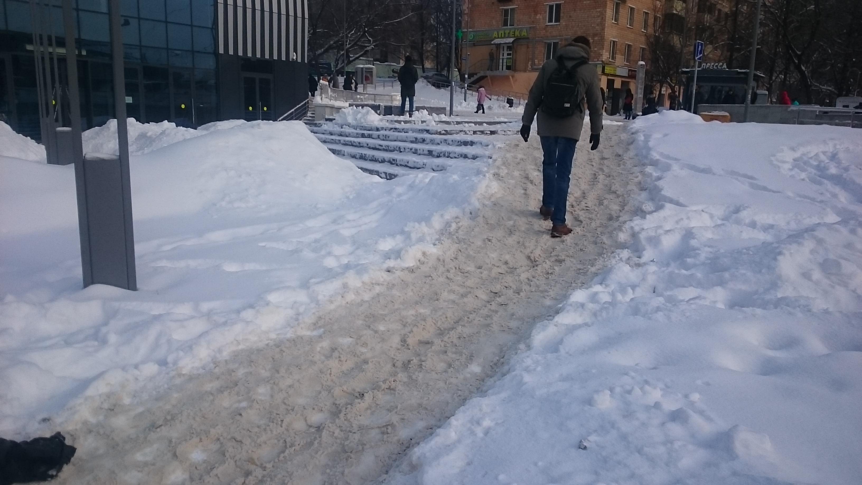 москва, зима