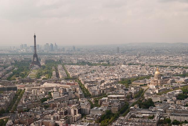 Montparnasse — La tour Eiffel